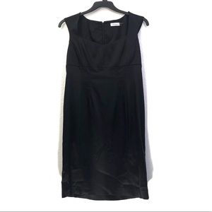 Calvin Klein Satin Sleeveless Cocktail Dress